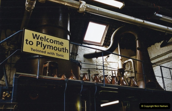 2003 June - Devon & Cornwall. (6) Plymouth Gin. 06