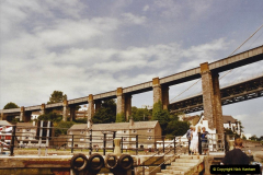 2003 June - Devon & Cornwall. (13) Royal Albert Bridge altash. 13