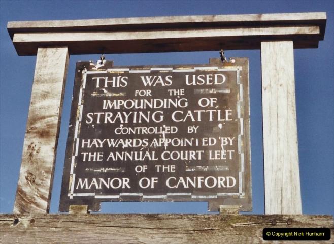 2003 Miscellaneous. (41) Sign in Pound Lane, Poole, Dorset.