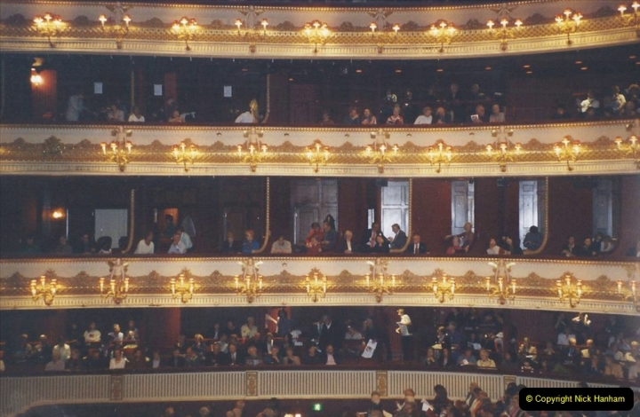 2003 Miscellaneous. (69) london and Sleeping Beauty at the Royal Opera House with friends.