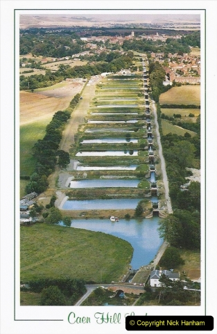 2003 September - (20) The Kennet & Avon Canal Trowbridge to Bath and return to Trowbridge with friends. POSTCARD.20