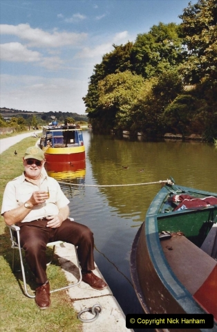 2003 September - (72) The Kennet & Avon Canal Trowbridge to Bath and return to Trowbridge with friends. 72