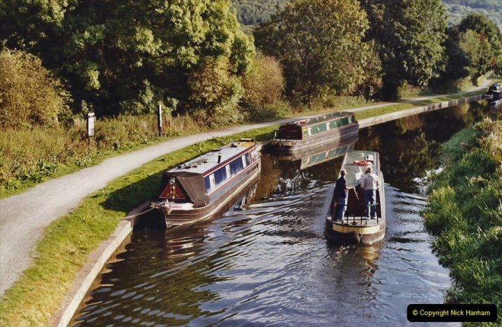 2003 September - (76) The Kennet & Avon Canal Trowbridge to Bath and return to Trowbridge with friends. 76