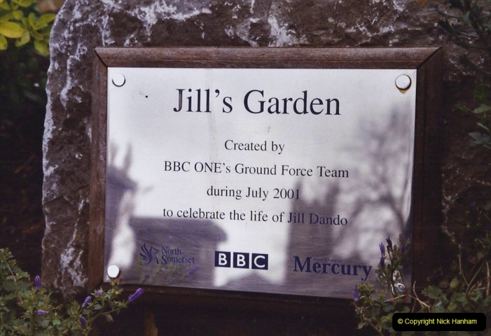 2004 January - Weston Super Mare Holiday. (26) Jill's Garden.
