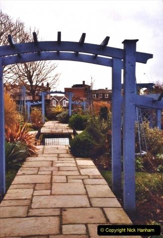 2004 January - Weston Super Mare Holiday. (28) Jill's Garden.