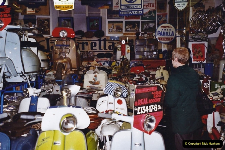 2004 January - Weston Super Mare Holiday. (29) Lambretta Museum.