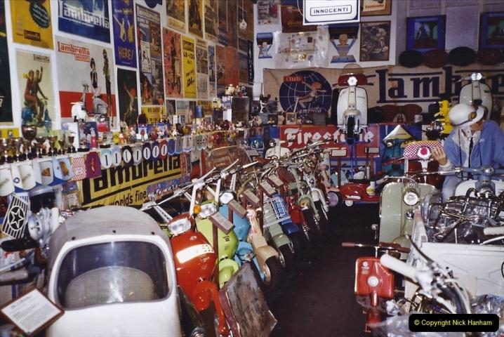 2004 January - Weston Super Mare Holiday. (30) Lambretta Museum.