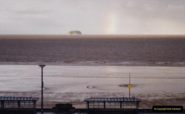 2004 January - Weston Super Mare Holiday. (32) Bristol Channel.