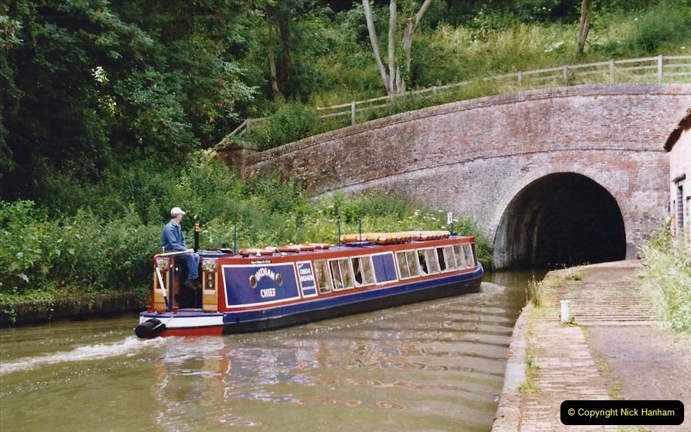 2004 June - The Grand Union Canal Blisworth,  Northampton, Noprthamptonshire.  (12)