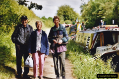 2004 June - The Grand Union Canal Blisworth,  Northampton, Noprthamptonshire.  (11)
