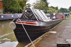 2004 June - The Grand Union Canal Blisworth,  Northampton, Noprthamptonshire.  (16)