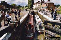 2004 June - The Grand Union Canal Blisworth,  Northampton, Noprthamptonshire.  (7)