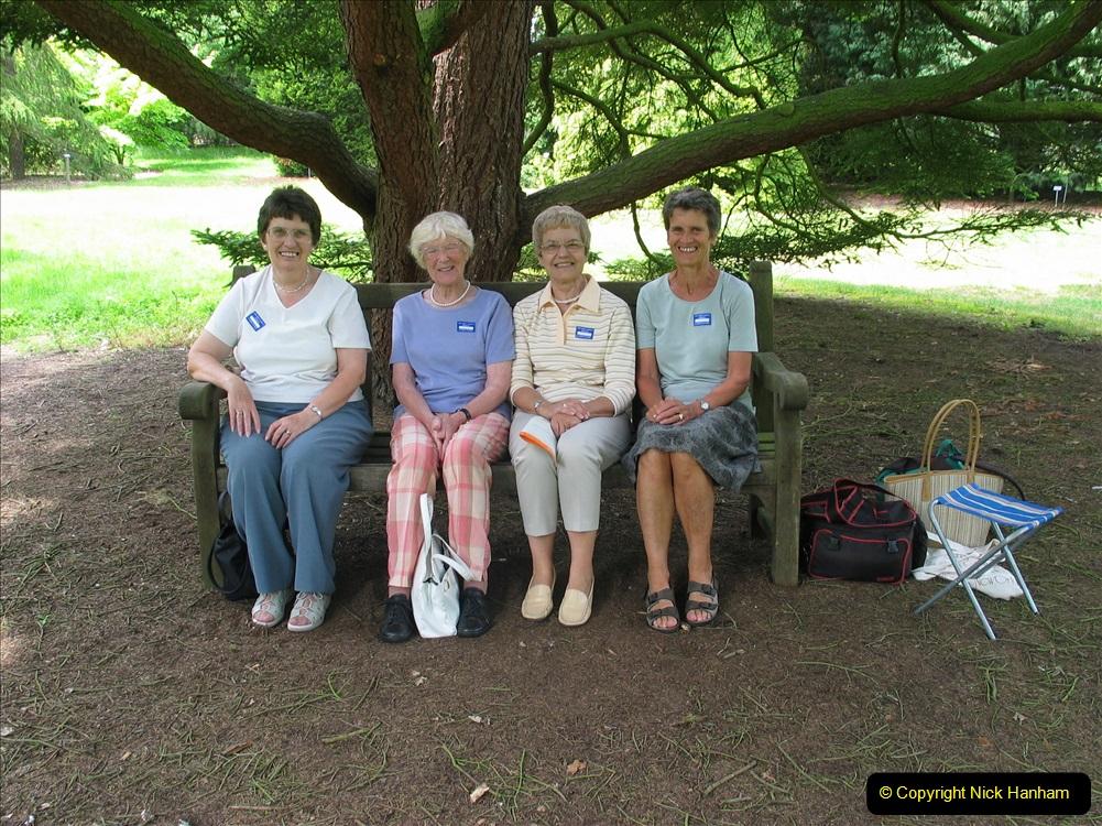 Retrospective 2004 June - RHS Wisley group visit. (12) 01