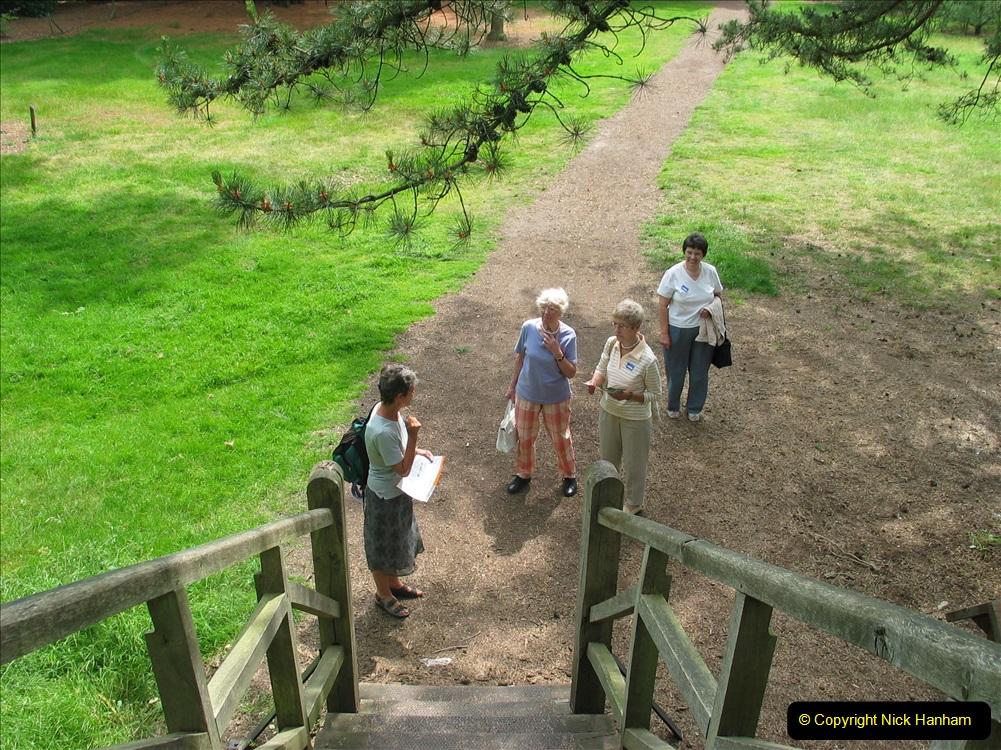Retrospective 2004 June - RHS Wisley group visit. (13) 01