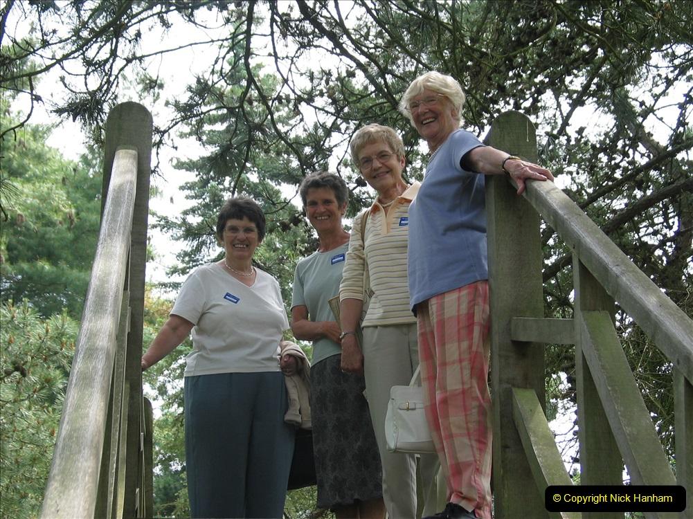 Retrospective 2004 June - RHS Wisley group visit. (14) 01
