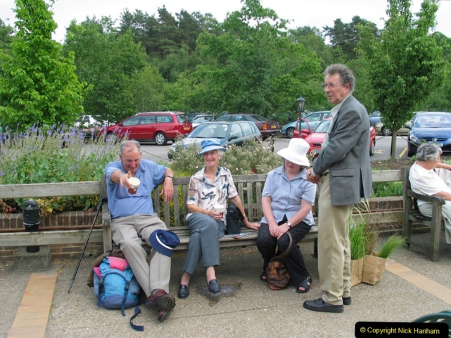 Retrospective 2004 June - RHS Wisley group visit. (86) 01