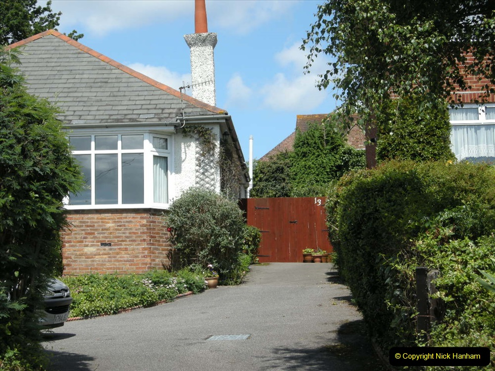 Retrospective 2004 May - Your Host visite local homes in Poole he lived in & the church he was married in. (3) 3