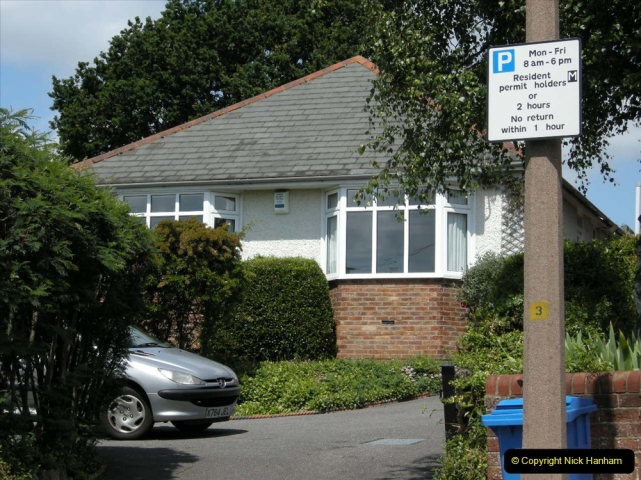 Retrospective 2004 May - Your Host visite local homes in Poole he lived in & the church he was married in. (2) 2