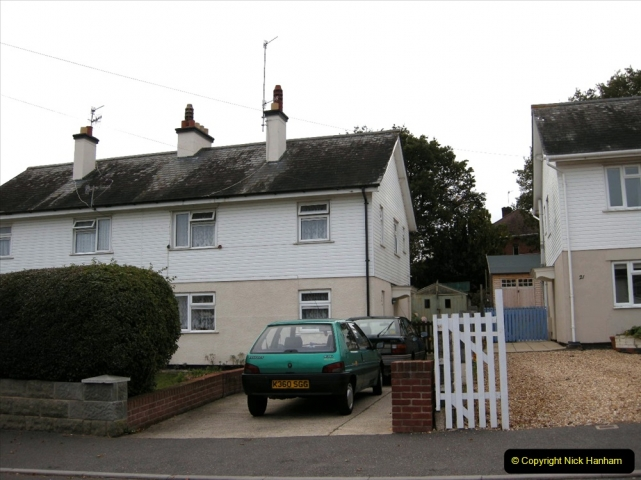 Retrospective 2004 May - Your Host visite local homes in Poole he lived in & the church he was married in. (4) 4