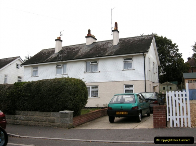 Retrospective 2004 May - Your Host visite local homes in Poole he lived in & the church he was married in. (5) 5