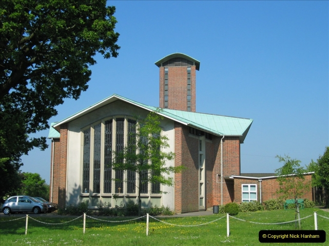 Retrospective 2004 May - Your Host visite local homes in Poole he lived in & the church he was married in. (9) 9