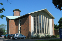 Retrospective 2004 May - Your Host visite local homes in Poole he lived in & the church he was married in. (11) 11