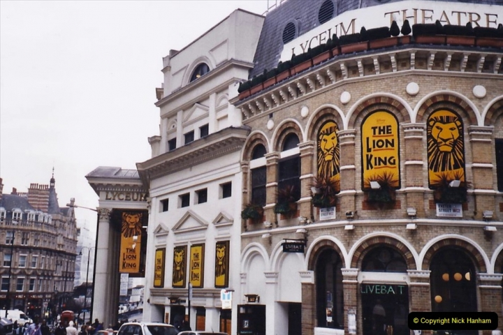 2004 Miscellaneous. (10) In London to see The Lion King.