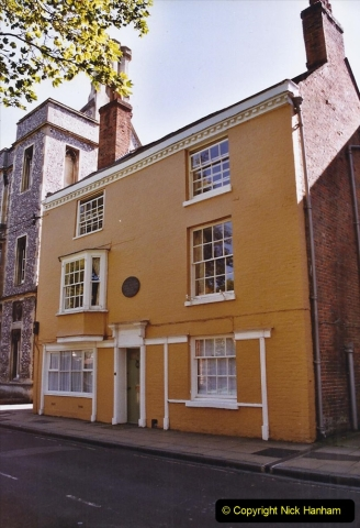 2004 Miscellaneous. (219) Winchester, Hampshire and Jane austen's House.