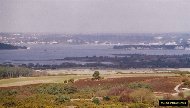 2004 Miscellaneous. (22) Poole Harbour from the Purbeck Hills.