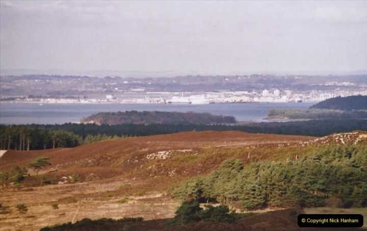 2004 Miscellaneous. (24) Poole Harbour from the Purbeck Hills.