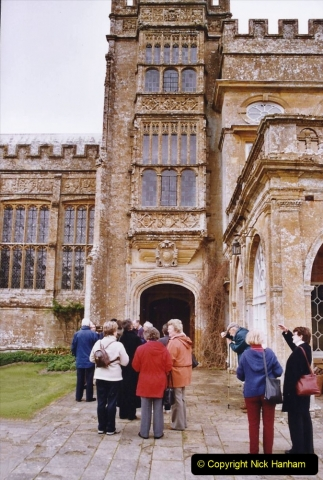 2004 Miscellaneous. (35) Forde Abbey, Dorset group visit.