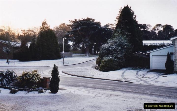 2004 Miscellaneous. (6) Snow in Poole, Dorset.