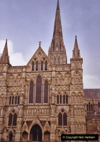 2004 Miscellaneous. (68) Salisbury Cathedral, Salisbury, Wiltshire.