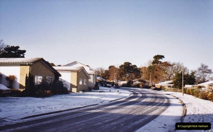 2004 Miscellaneous. (7) Snow in Poole, Dorset.