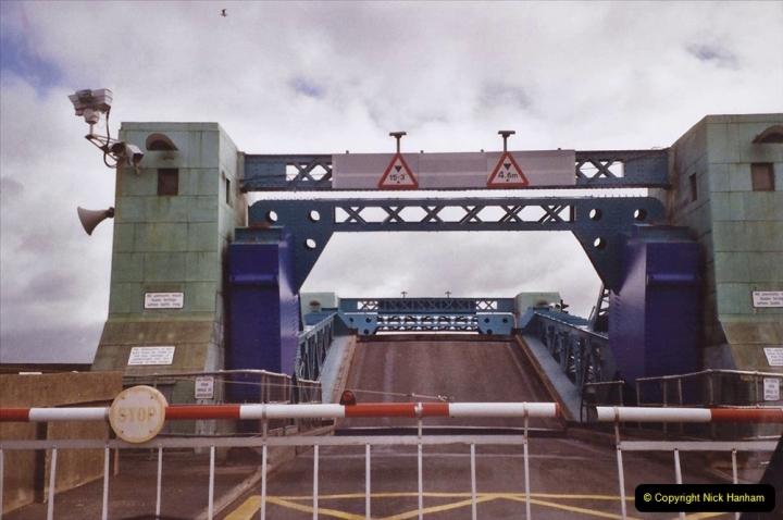 2004 Miscellaneous. (71) Poole Bridge opening for sea traffic Poole Harbour, Poole, Dorset.