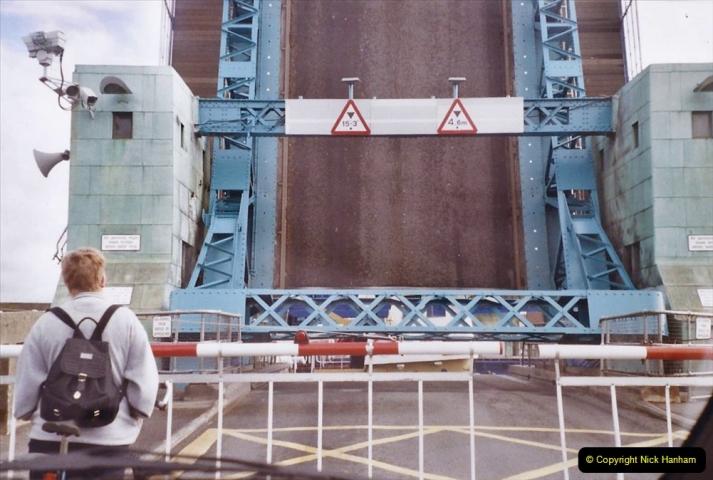 2004 Miscellaneous. (73) Poole Bridge opening for sea traffic Poole Harbour, Poole, Dorset.