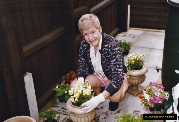 2004 Miscellaneous. (76) Your Host & Wife planting up our garden.