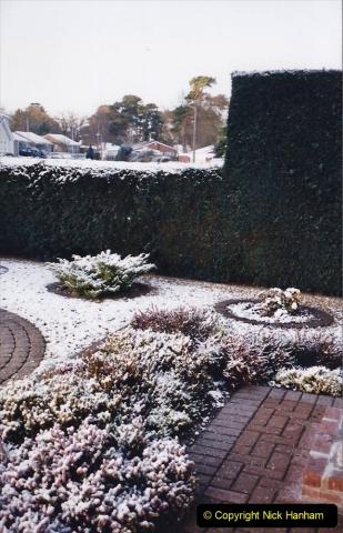 2004 Miscellaneous. (8) Snow in Poole, Dorset.