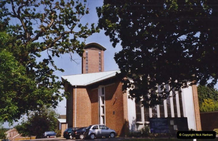 2004 Miscellaneous. (87) The church in Oakdale, Poole, Dorset where your Host & Wife were married.