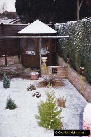 2004 Miscellaneous. (9) Snow in Poole, Dorset.