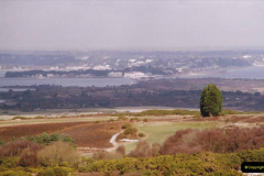 2004 Miscellaneous. (23) Poole Harbour from the Purbeck Hills.