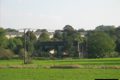Retrospective 2004 October - Blandford Forum and visit to the Royal Signals. (1) Bridge remains of the old S&DJR. 01