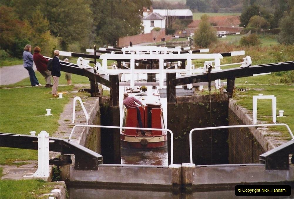 2004 October - Kennet & Avon Canal Holiday (12) Trowbridge - Cane Flight - Bath - Trobridge. 12