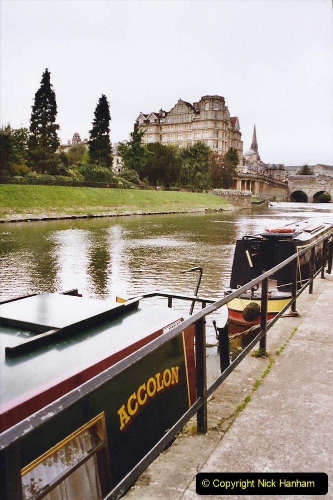 2004 October - Kennet & Avon Canal Holiday (24) Trowbridge - Cane Flight - Bath - Trobridge. 24