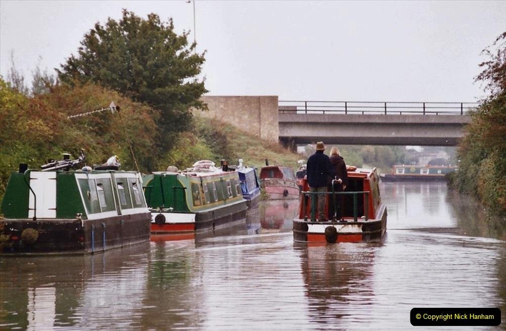 2004 October - Kennet & Avon Canal Holiday (46) Trowbridge - Cane Flight - Bath - Trobridge. 46