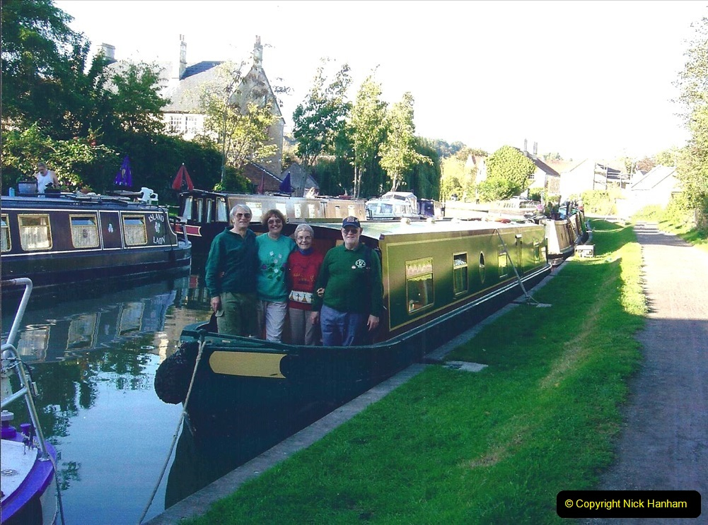 2004 October - Kennet & Avon Canal Holiday (49) Trowbridge - Cane Flight - Bath - Trobridge. 49