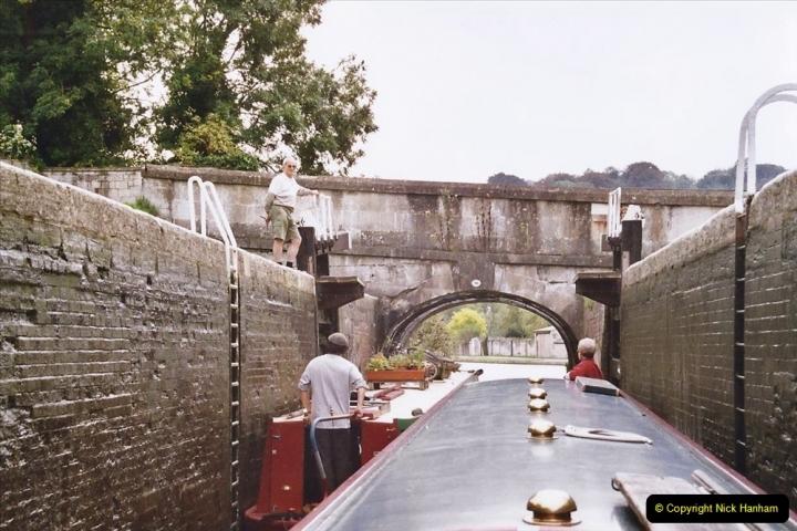 2004 October - Kennet & Avon Canal Holiday (21) Trowbridge - Cane Flight - Bath - Trobridge. 21
