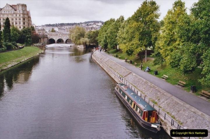 2004 October - Kennet & Avon Canal Holiday (28) Trowbridge - Cane Flight - Bath - Trobridge. 28