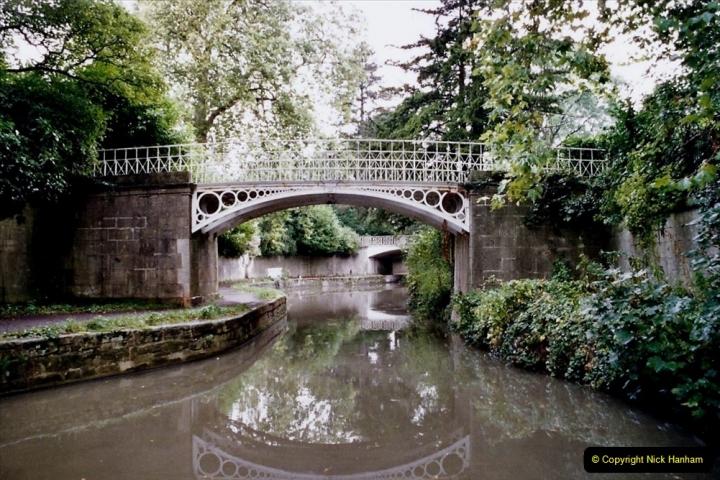 2004 October - Kennet & Avon Canal Holiday (37) Trowbridge - Cane Flight - Bath - Trobridge. 37