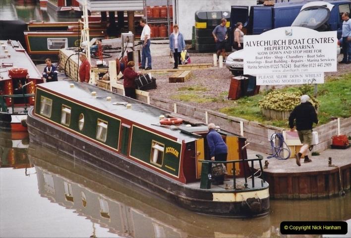 2004 October - Kennet & Avon Canal Holiday (48) Trowbridge - Cane Flight - Bath - Trobridge. 48